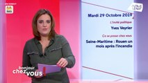 Invité : Yves Veyrier - Bonjour chez vous ! (29/10/2019)