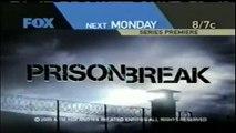 """2005 """"Prison Break"""" Series Premiere TV Ads (2)"""