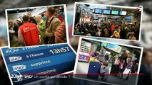 Grève SNCF - Colère des usagers après l'annulation de leur TGV en gare de Paris Montparnasse : «Ma journée est perdue» - VIDEO