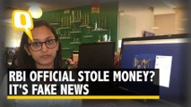 No, RBI Dy Director Didn't Steal Cash in Shoes! It's a False Claim