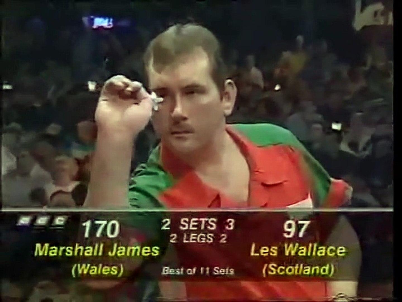 BDO World Darts Championship Final 1997 - Les Wallace vs Marshall James  3of3