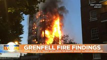 Leaked report condemns firefighters' response to Grenfell Tower fire