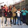 Initiatives Cœur 2019 : Visite des enfants sur le bateau Initiatives-cœur