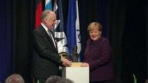 """""""Hüterin der Zivilisation"""": Merkel mit Theodor-Herzl-Preis geehrt"""