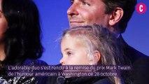 Bradley Cooper présente sa fille