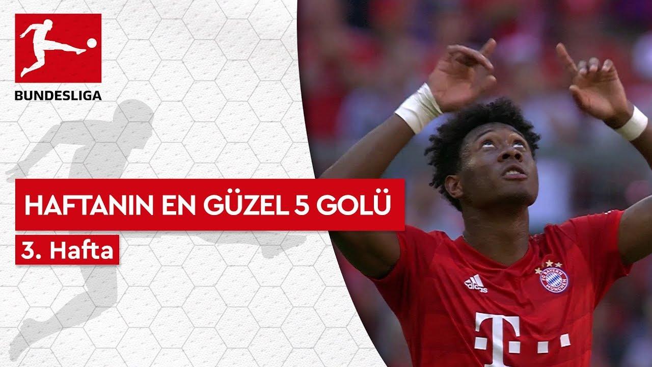 Bundesliga'da 3. Haftanın En Güzel 5 Golü (2019/20)