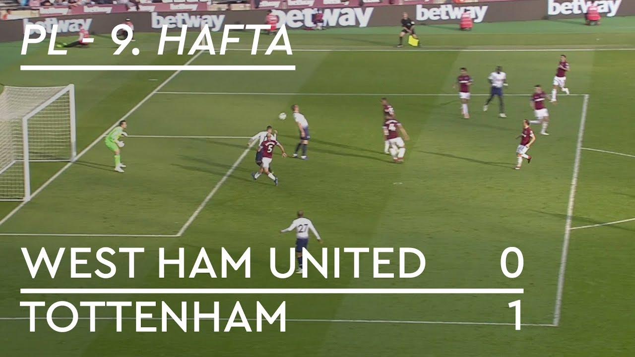 West Ham United - Tottenham (0-1) - Maç Özeti - Premier League 2018/19