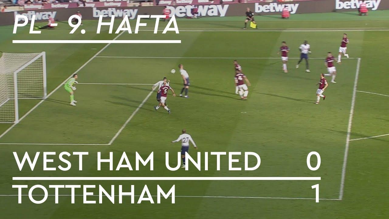 West Ham United - Tottenham (0-1) - Maç Özeti - Premier League 2018/19