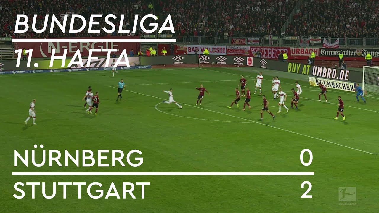Nürnberg - Stuttgart (0-2) - Maç Özeti - Bundesliga 2018/19