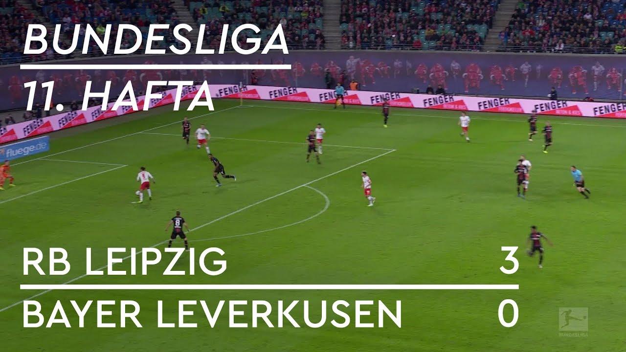 RB Leipzig - Bayer Leverkusen (3-0) - Maç Özeti - Bundesliga 2018/19