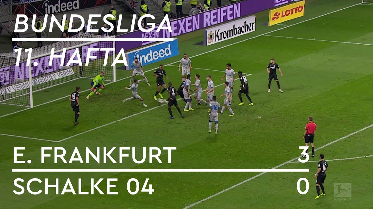 Eintracht Frankfurt - Schalke 04 (3-0) - Maç Özeti - Bundesliga 2018/19