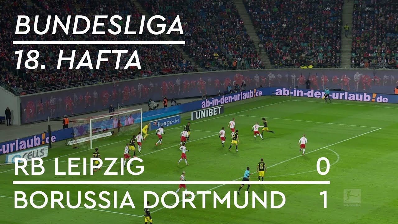 RB Leipzig - Borussia Dortmund (0-1) - Maç Özeti - Bundesliga 2018/19