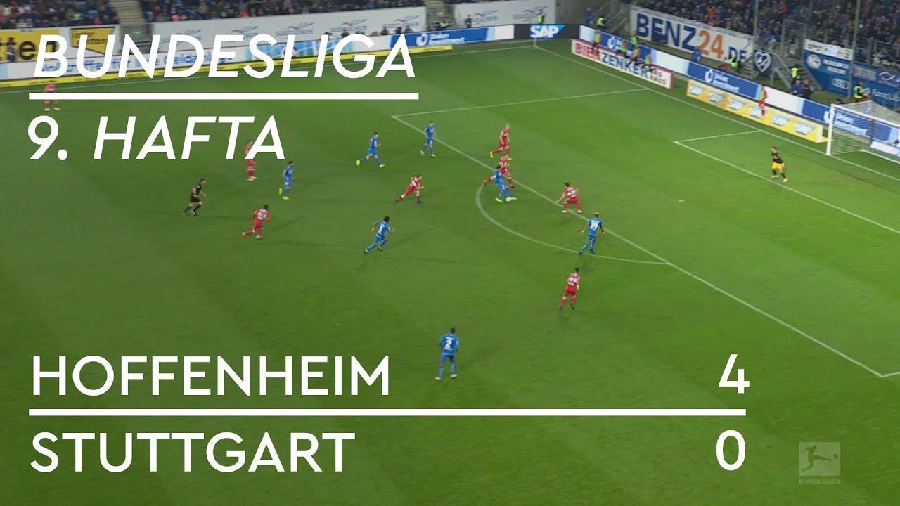 Hoffenheim - Stuttgart (4-0) - Maç Özeti - Bundesliga 2018/19