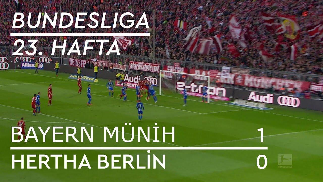 Bayern Münih - Hertha Berlin (1-0) - Maç Özeti - Bundesliga 2018/19
