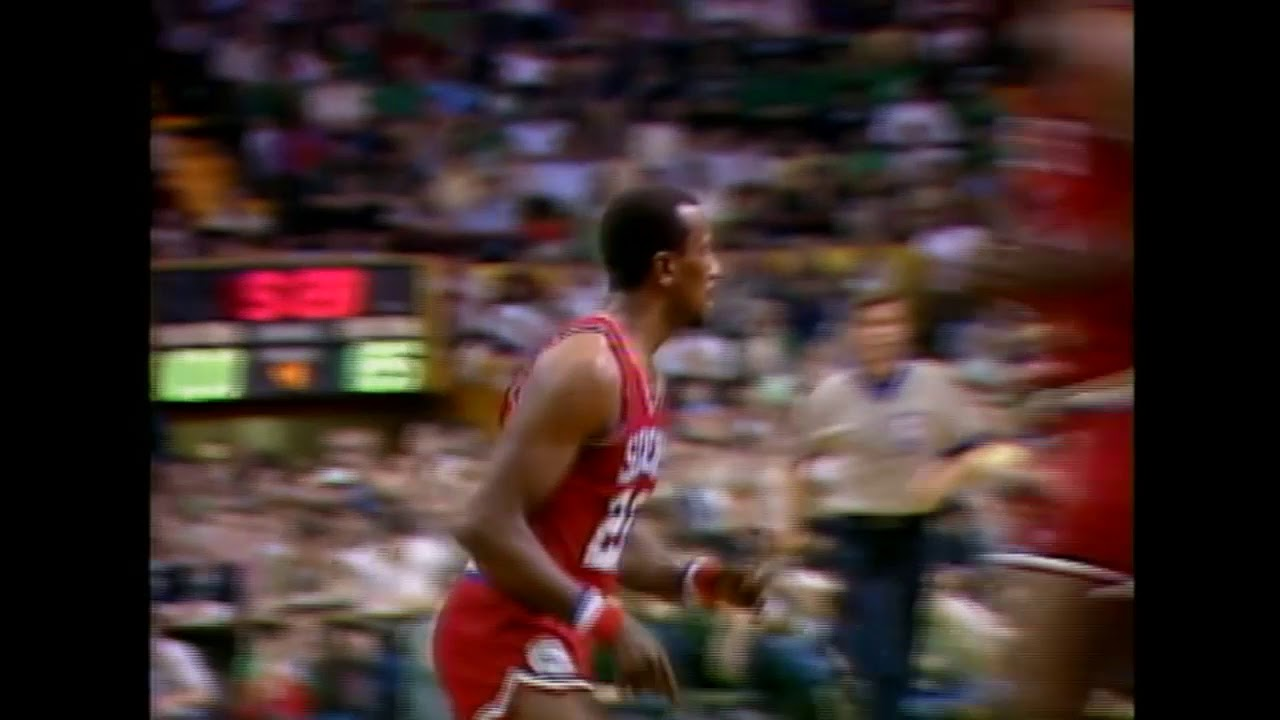 1982 NBA Playoffs - Andrew Toney'den 76ers'ı Finallere Taşıyan Performans!