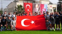 Trabzonspor, Göztepe maçı hazırlıklarına ara vermeden başladı