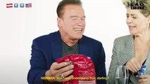 Arnold Schwarzenegger FOOD WAR with Linda Hamilton