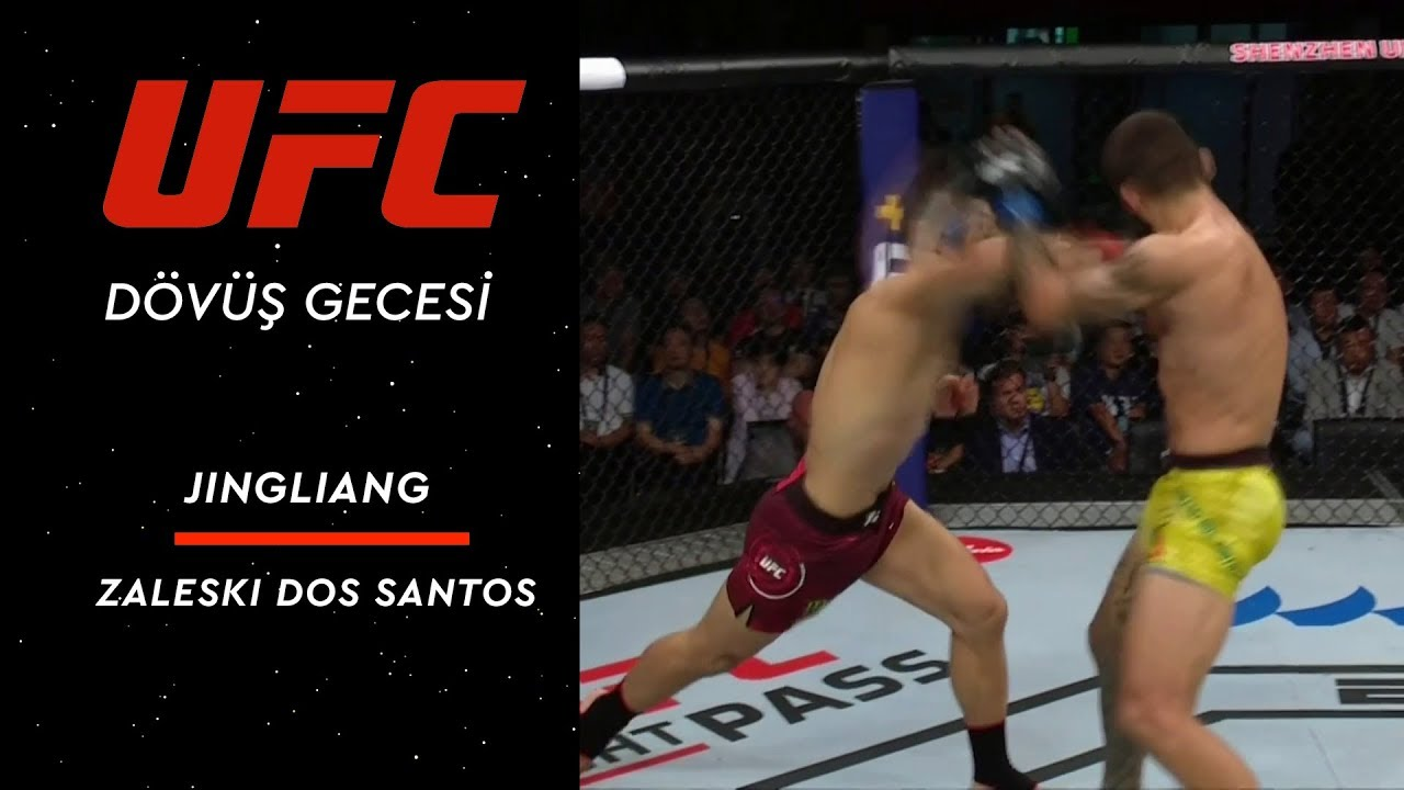 UFC Fight Night 157 | Jingliang vs Dos Santos