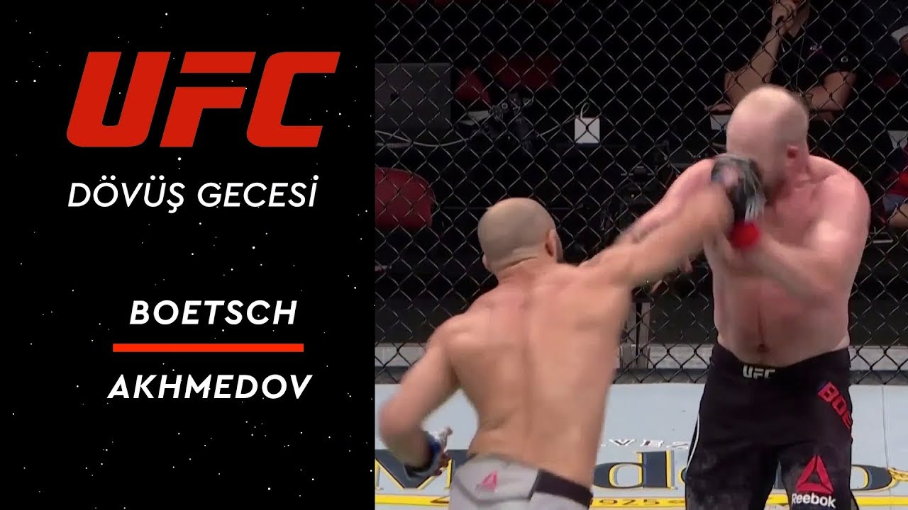 UFC Fight Night 146 | Boetsch vs Akhmedov