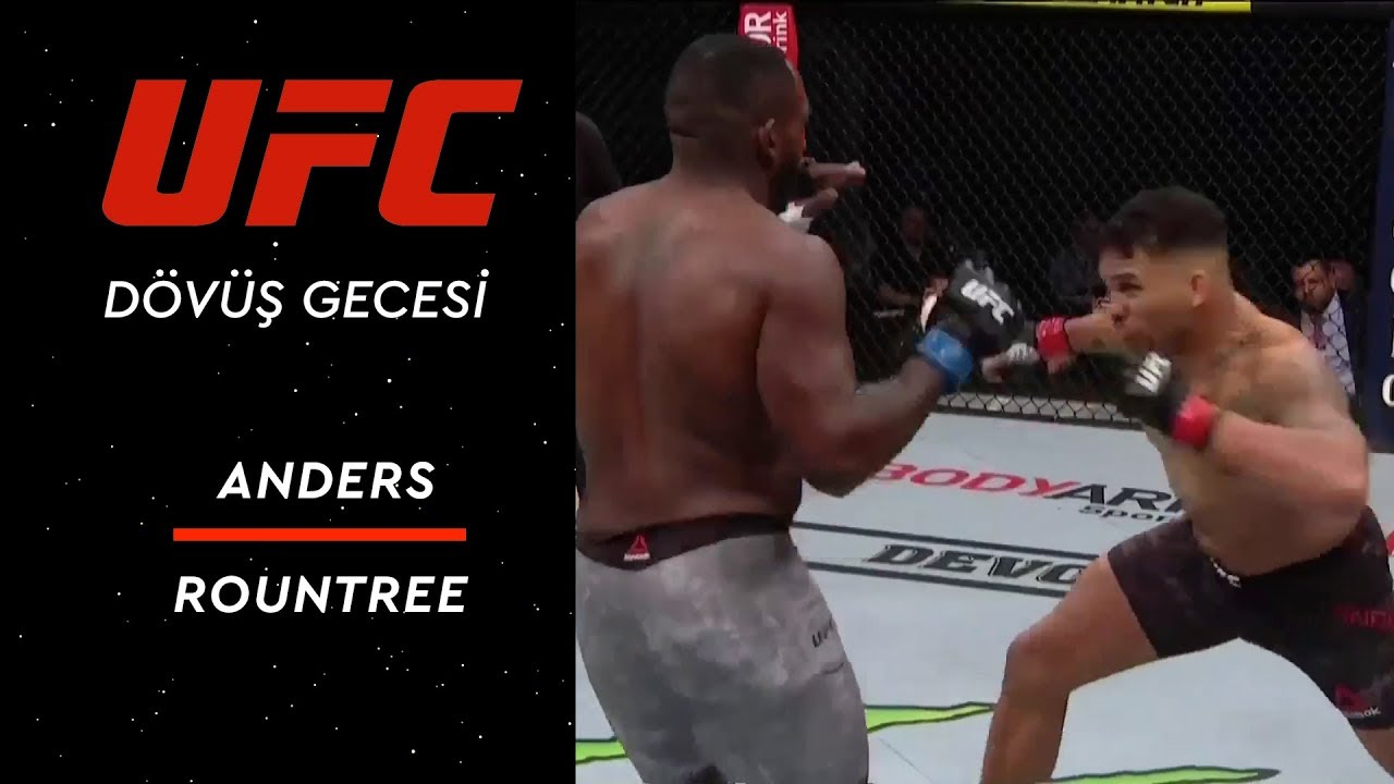 UFC 236 | Anders vs Rountree