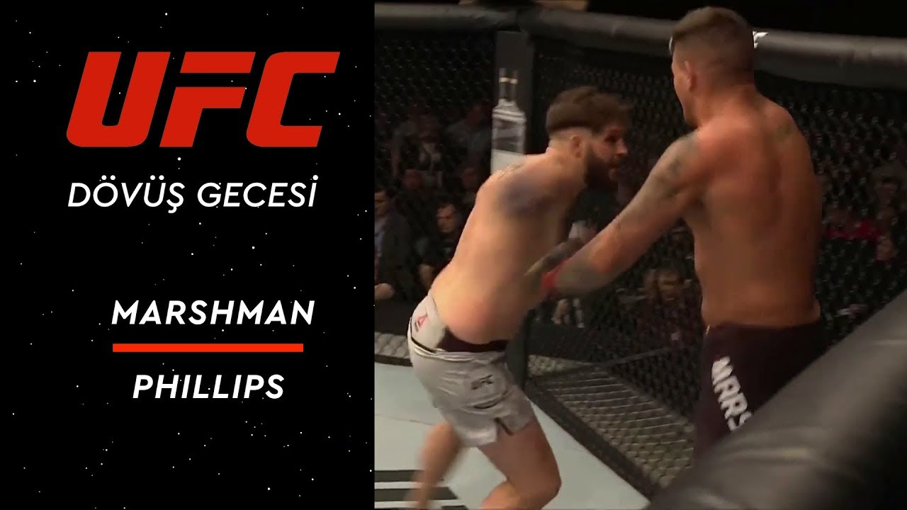 UFC Fight Night 147 | Marshman vs Phillips