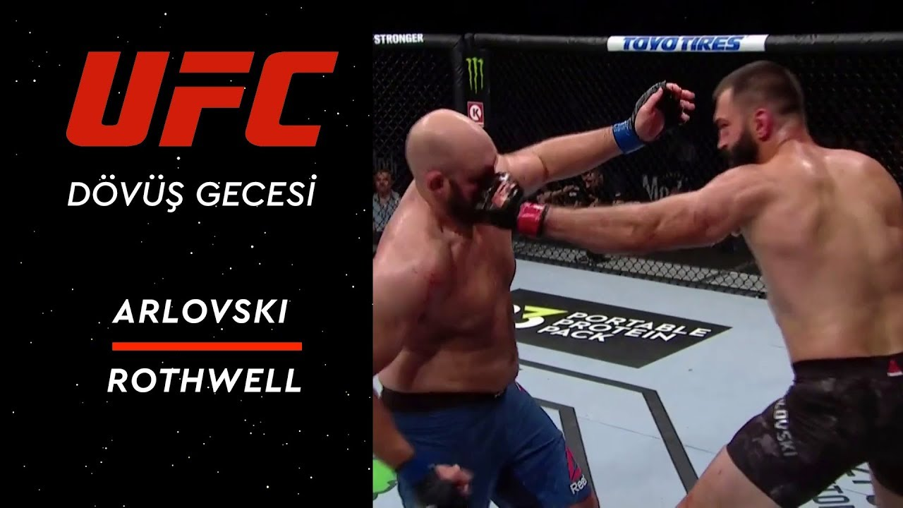 UFC Fight Night | Arlovski vs Rothwell