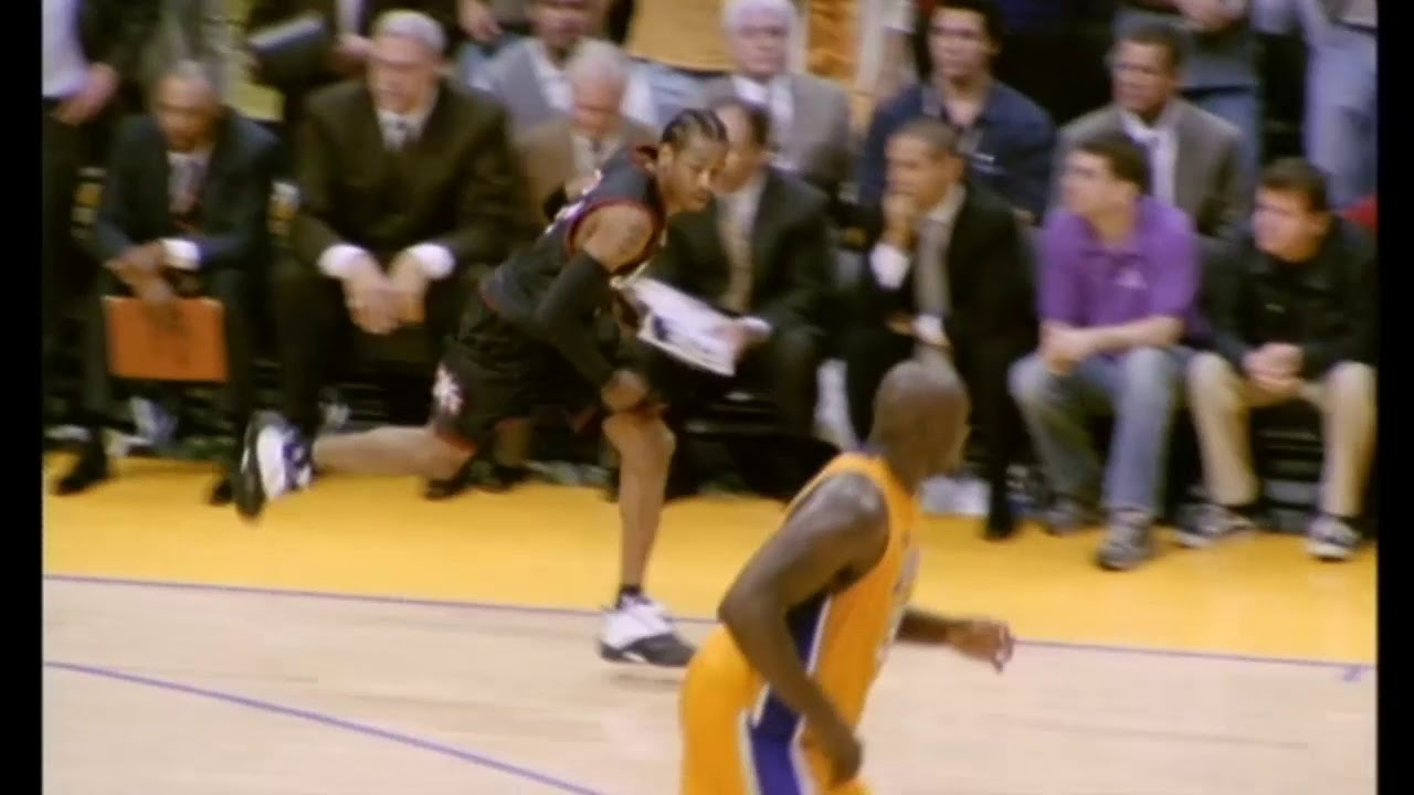 2001 NBA Finals - Iverson'ın Unutulmaz Game Winner'ı!