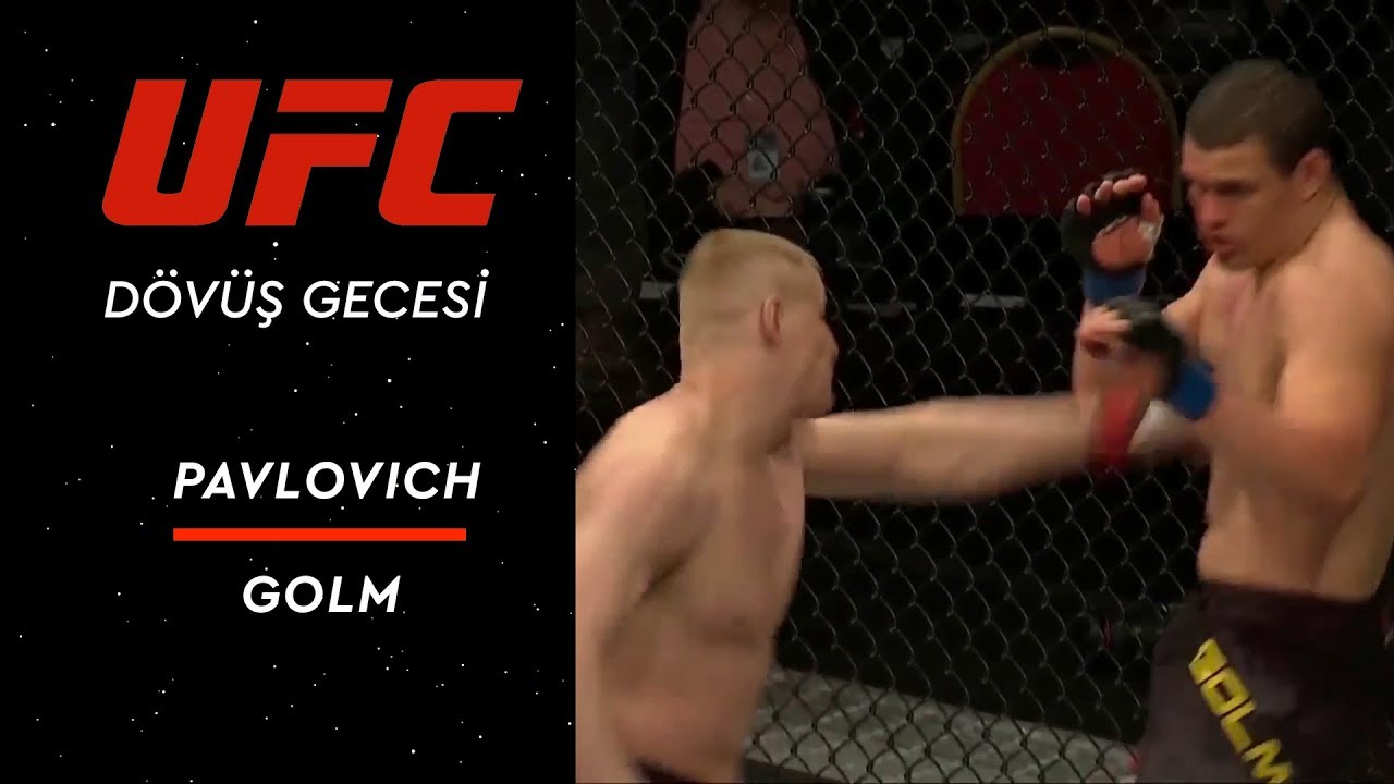 UFC Fight Night 149 | Pavlovich vs Golm