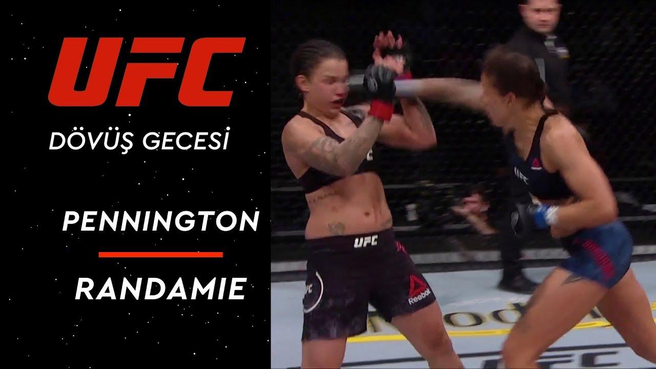 UFC Dövüş Gecesi | Pennington vs Randamie