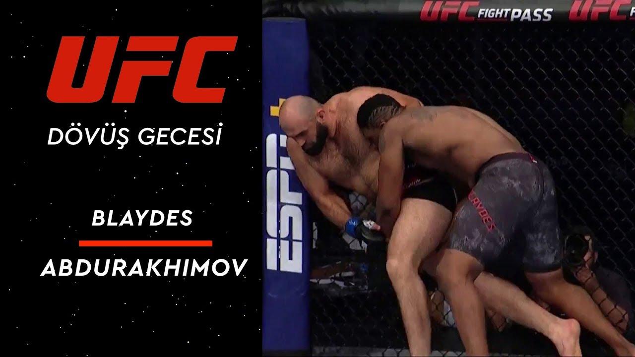 UFC 242 | Blaydes vs Abdurakhimov