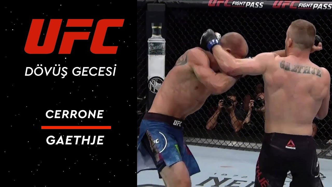 UFC Fight Night 158 | Cerrone vs Gaethje