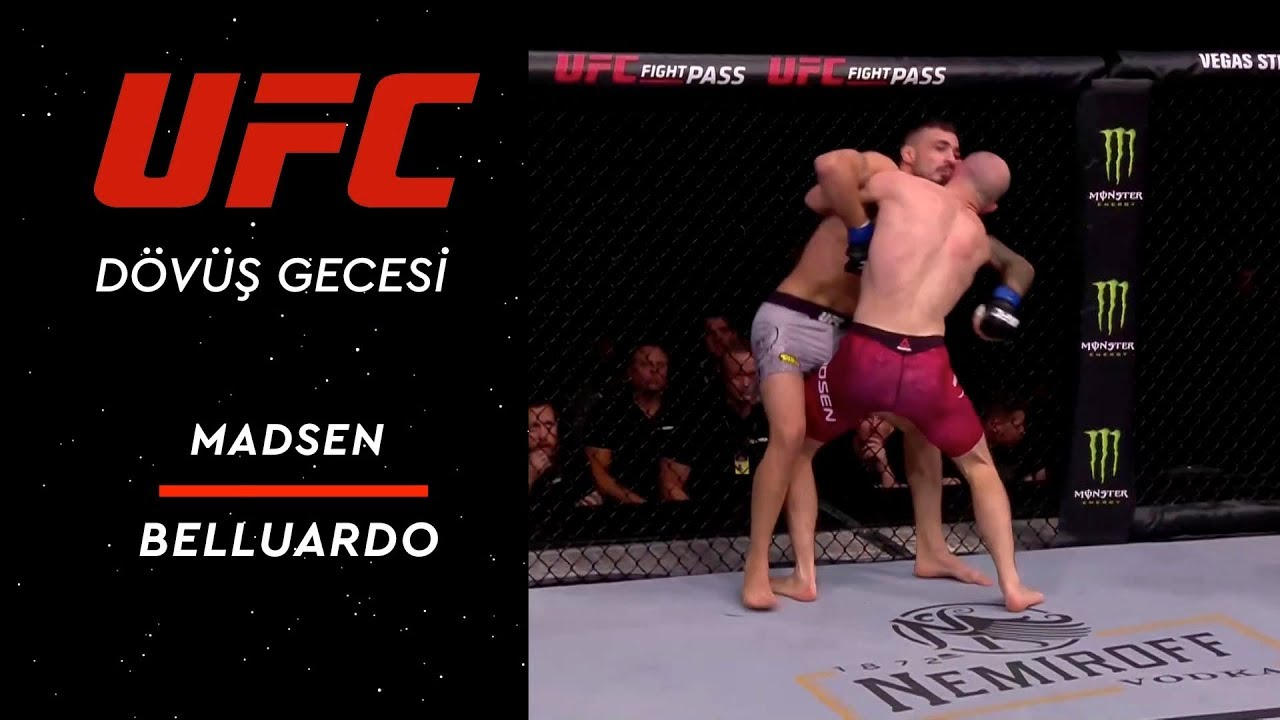 UFC Fight Night 160 | Madsen vs Belluardo