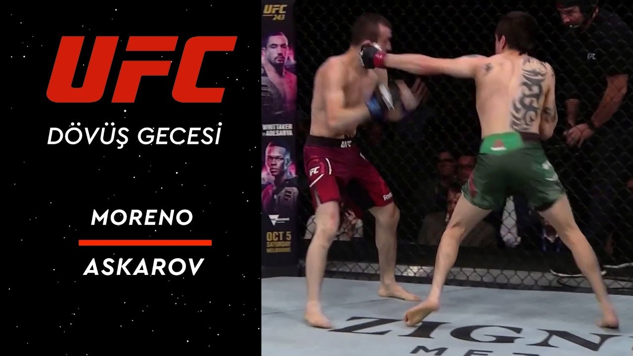 UFC Fight Night 159 | Moreno vs Askarov