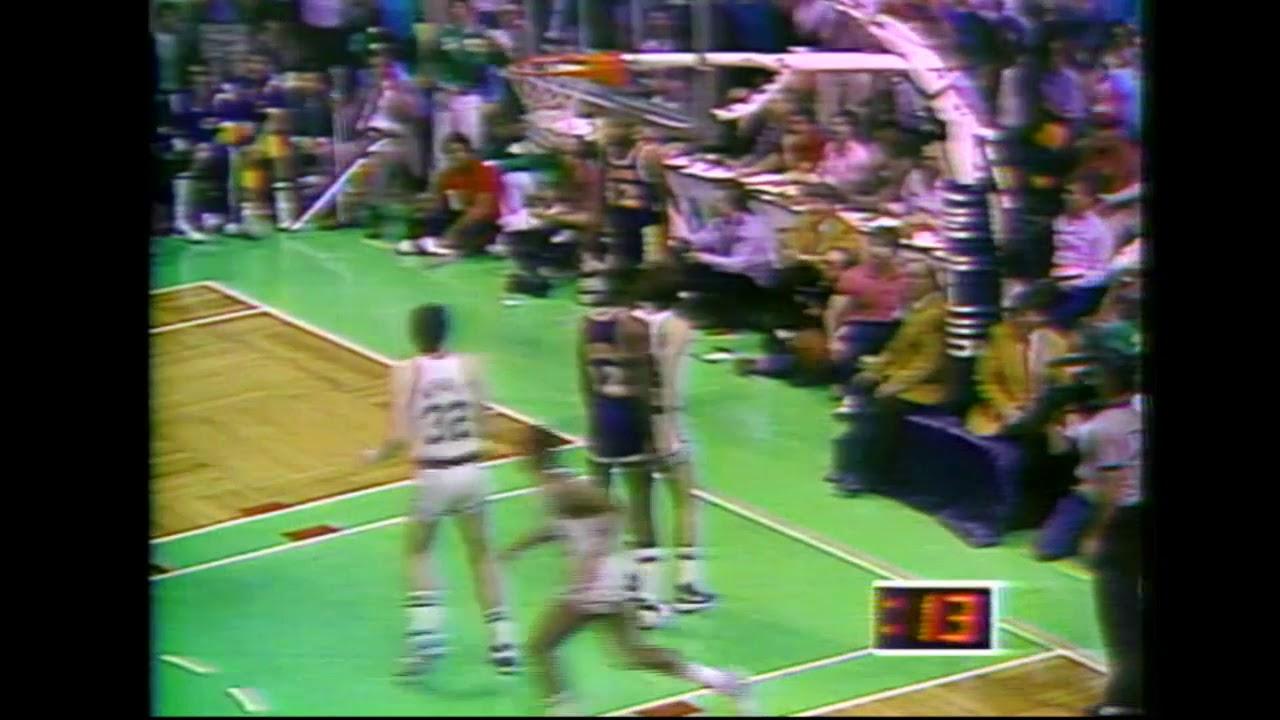 1984 NBA Finals - Henderson'un Skoru Eşitleyen Sayıları!