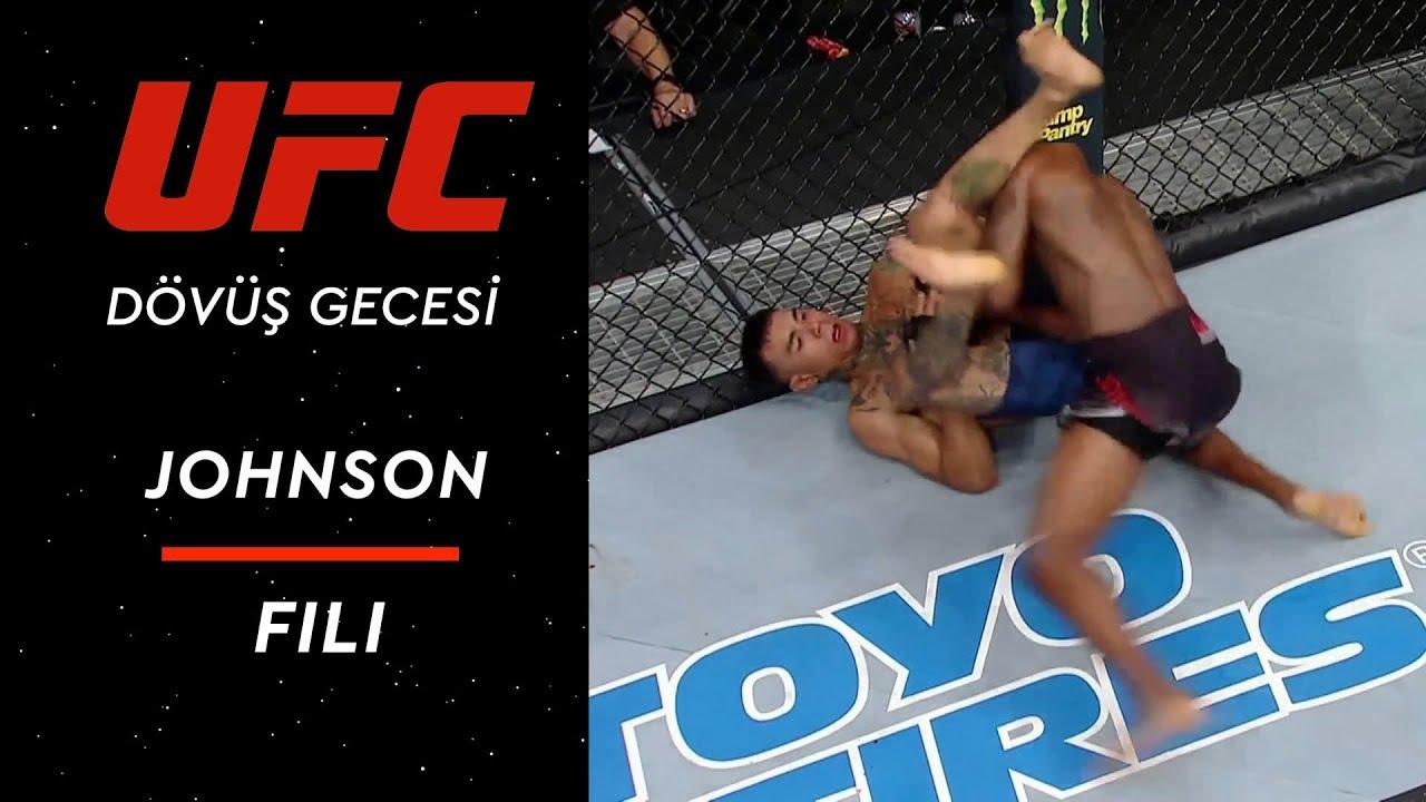 UFC Dövüş Gecesi Lincoln | Johnson - Fili
