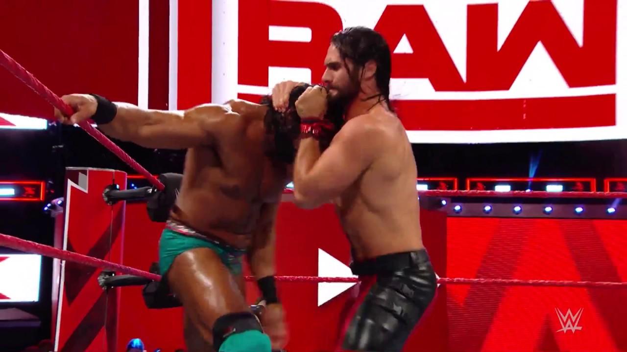 WWE Raw'da Seth Rollins – Jinder Mahal Karşılaşması!