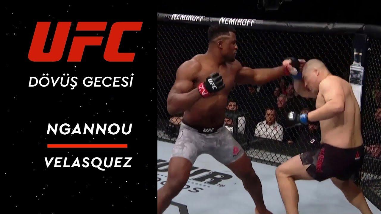 UFC on ESPN | Ngannou vs Velasquez