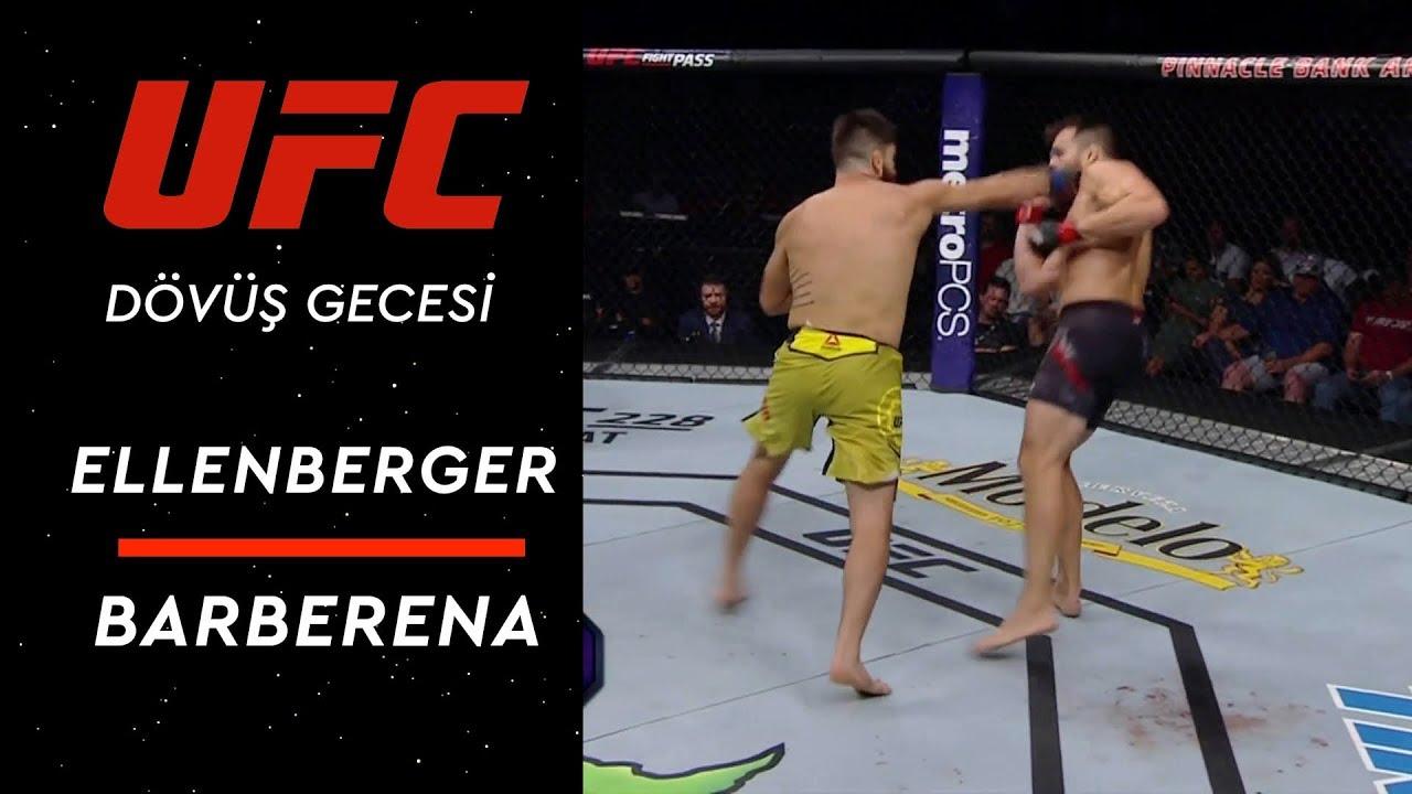 UFC Dövüş Gecesi Lincoln | Barberena - Ellenberger