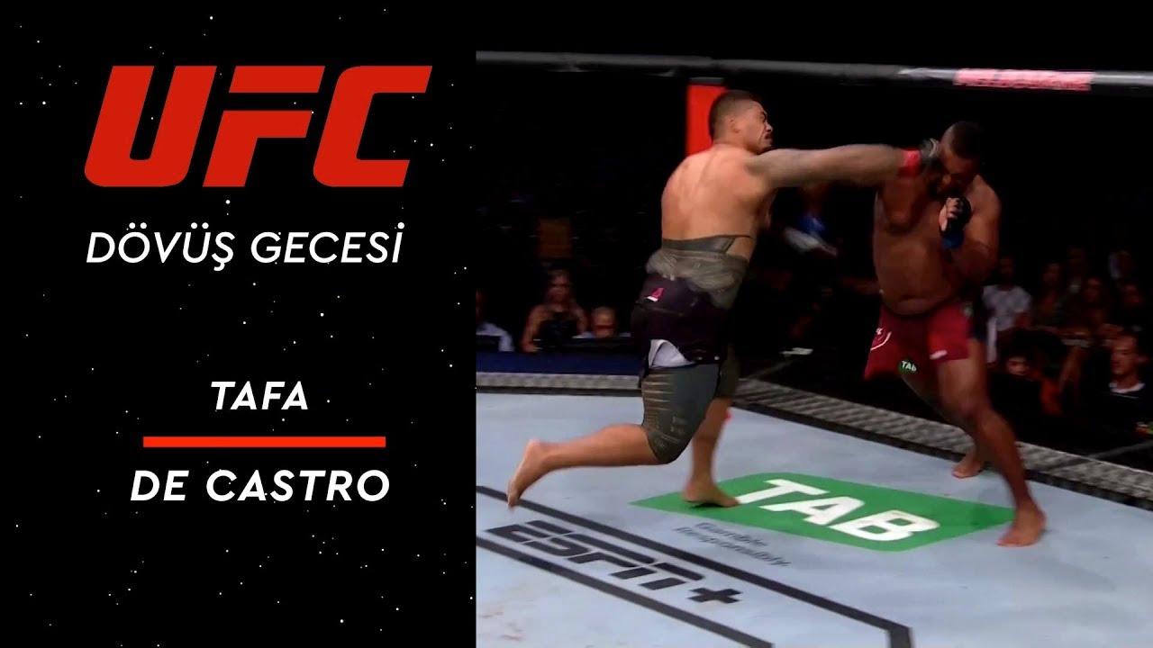 UFC 243 | Tafa vs De Castro