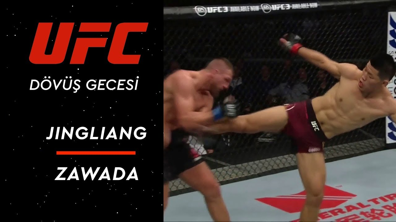 UFC Dövüş Gecesi | Jingliang vs Zawada