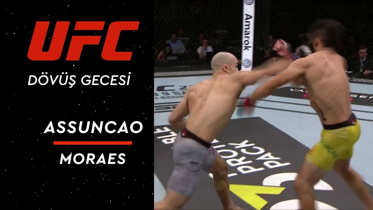 UFC Dövüş Gecesi 144 | Assuncao vs Moraes