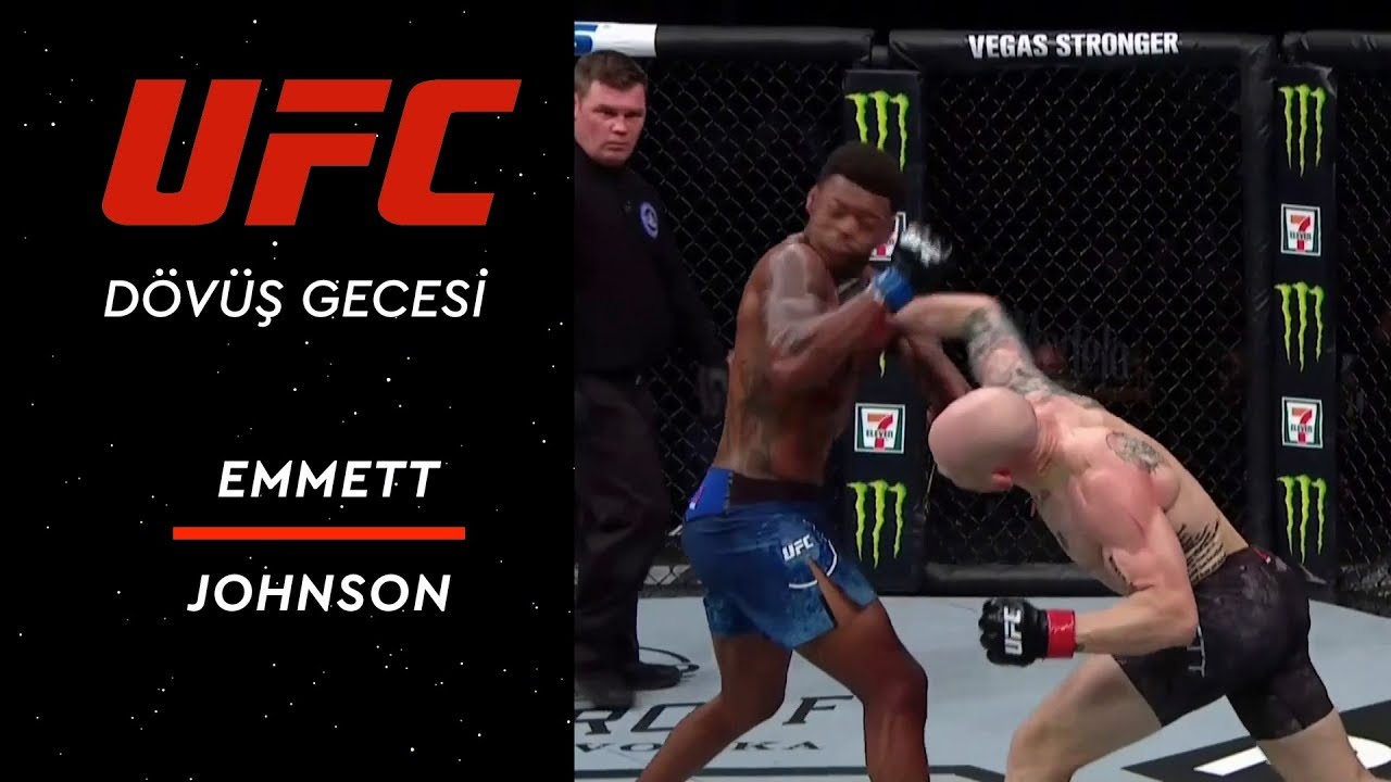 UFC on ESPN 2 | Emmett vs Johnson