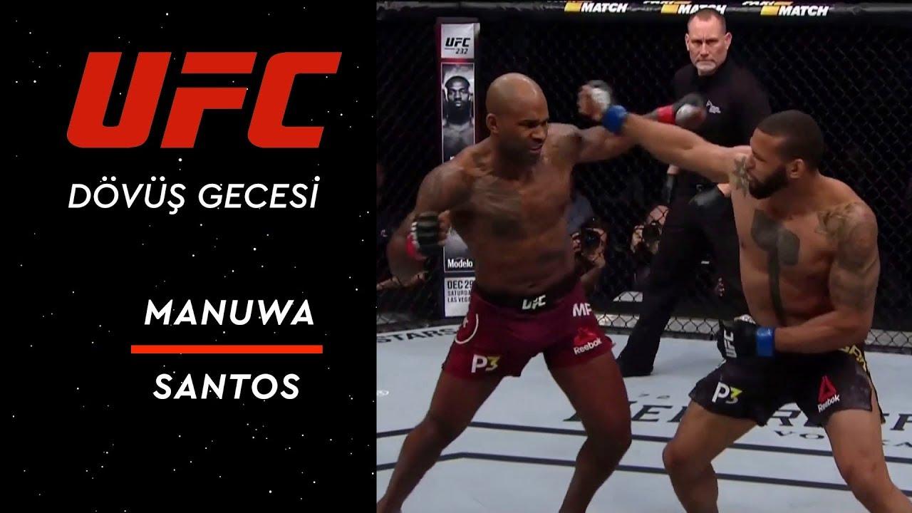 UFC 231 | Manuwa vs Santos