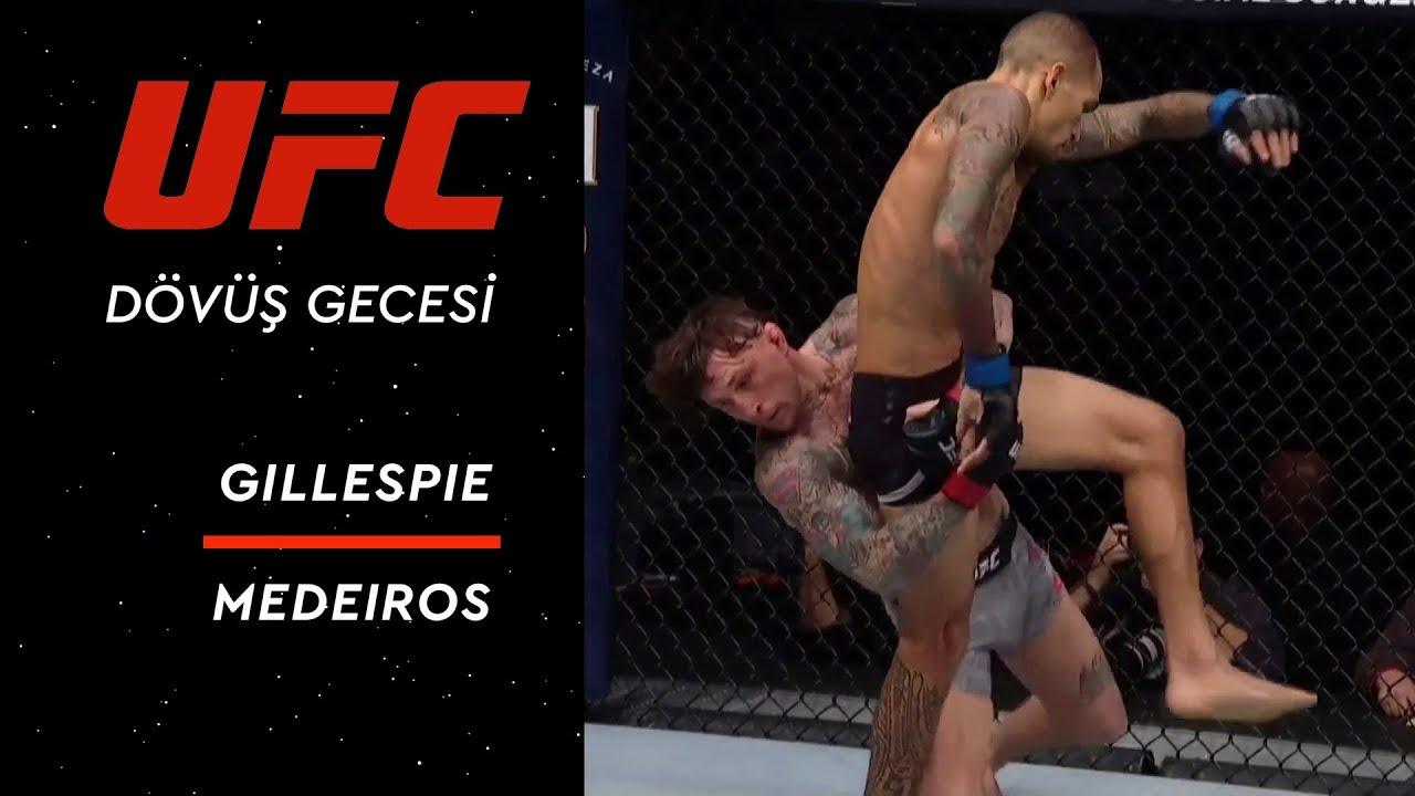 UFC Dövüş Gecesi 143 | Gillespie vs Medeiros