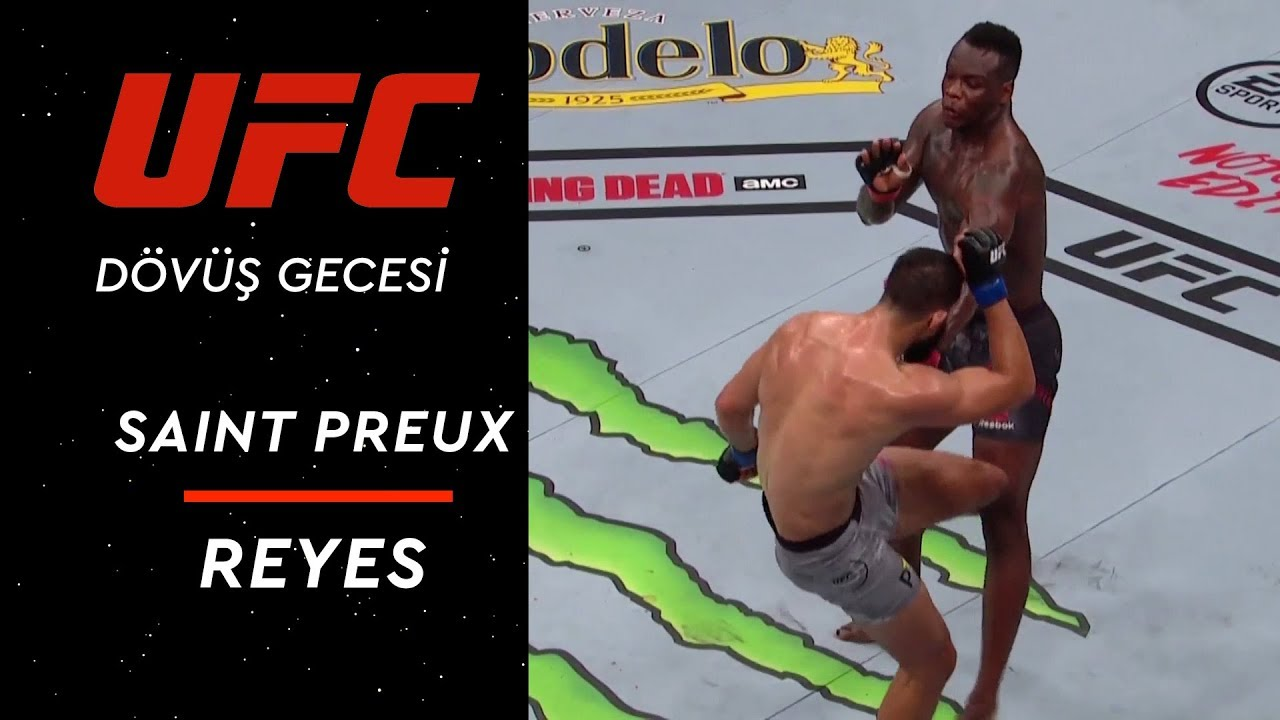 UFC 229 | Saint Preux - Reyes