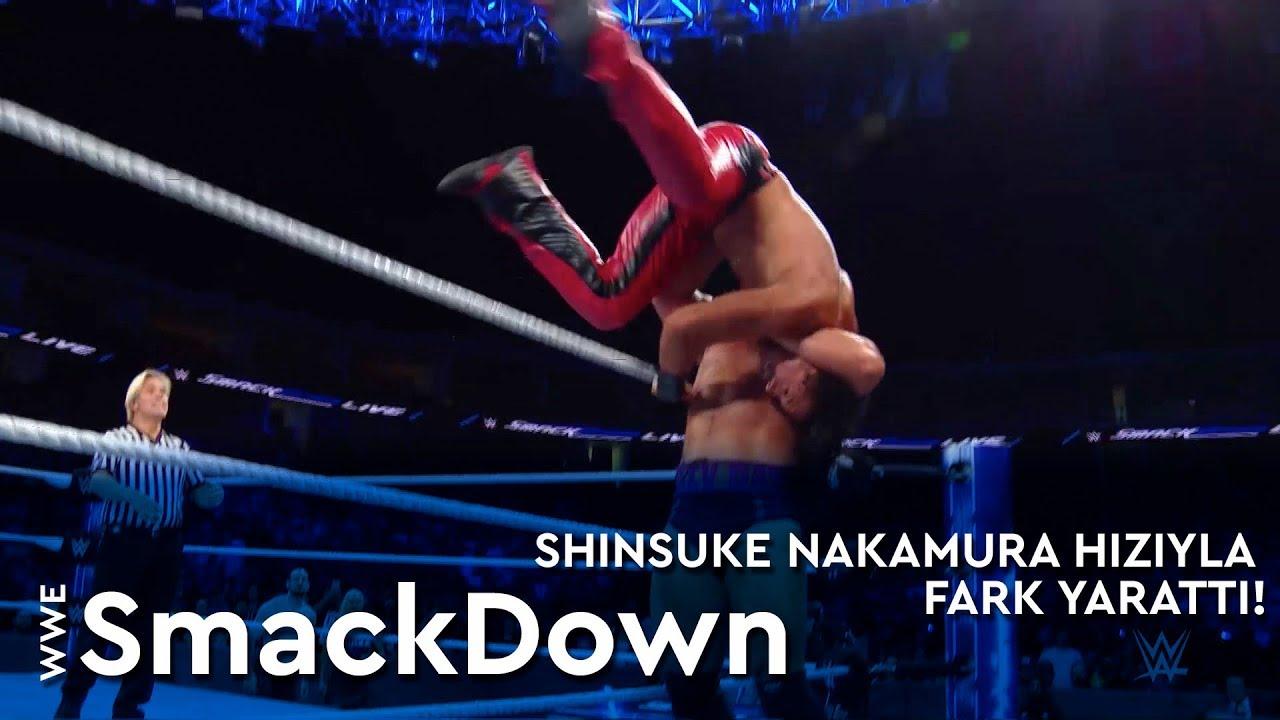 Shinsuke Nakamura Hızıyla Fark Yarattı!