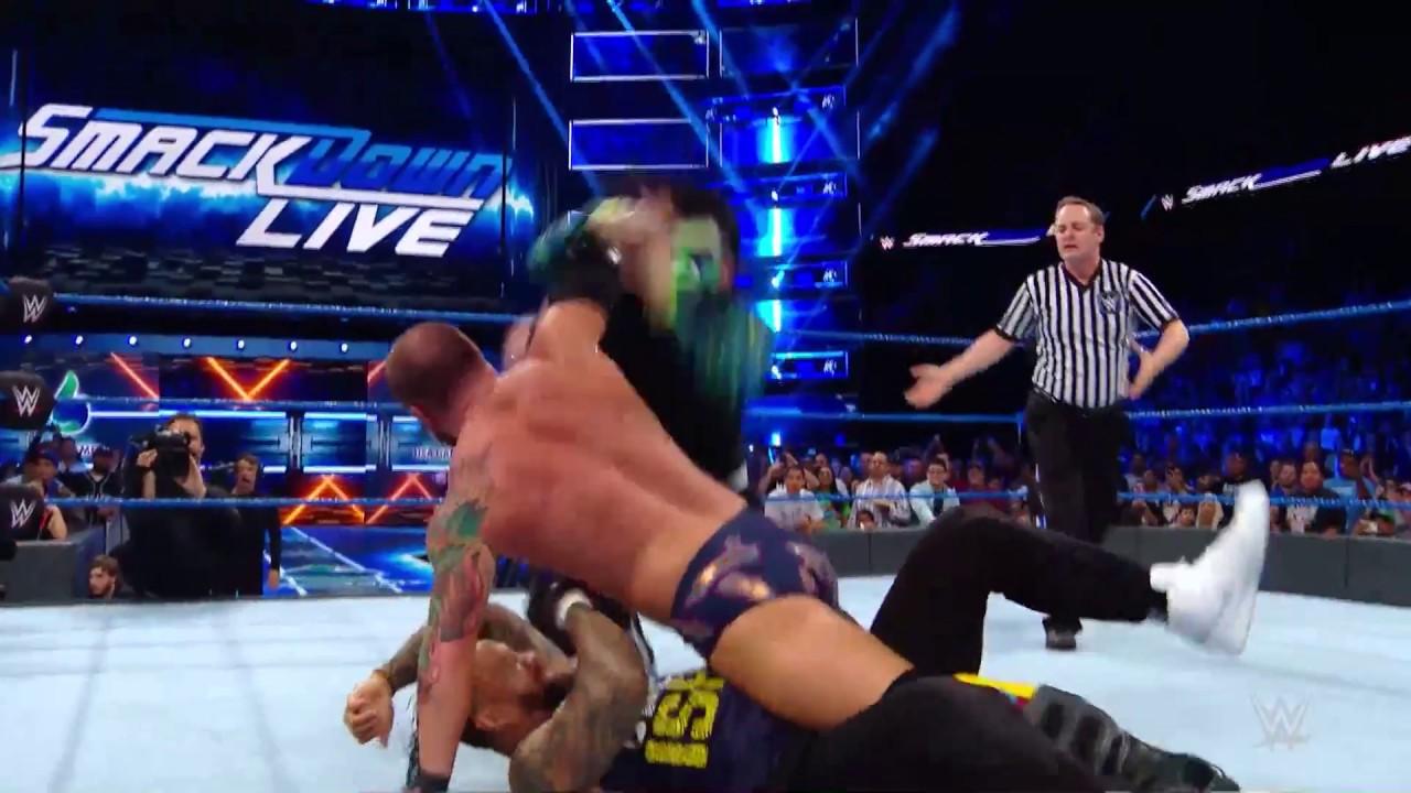 SmackDown'da Diskalifiye Olayı!