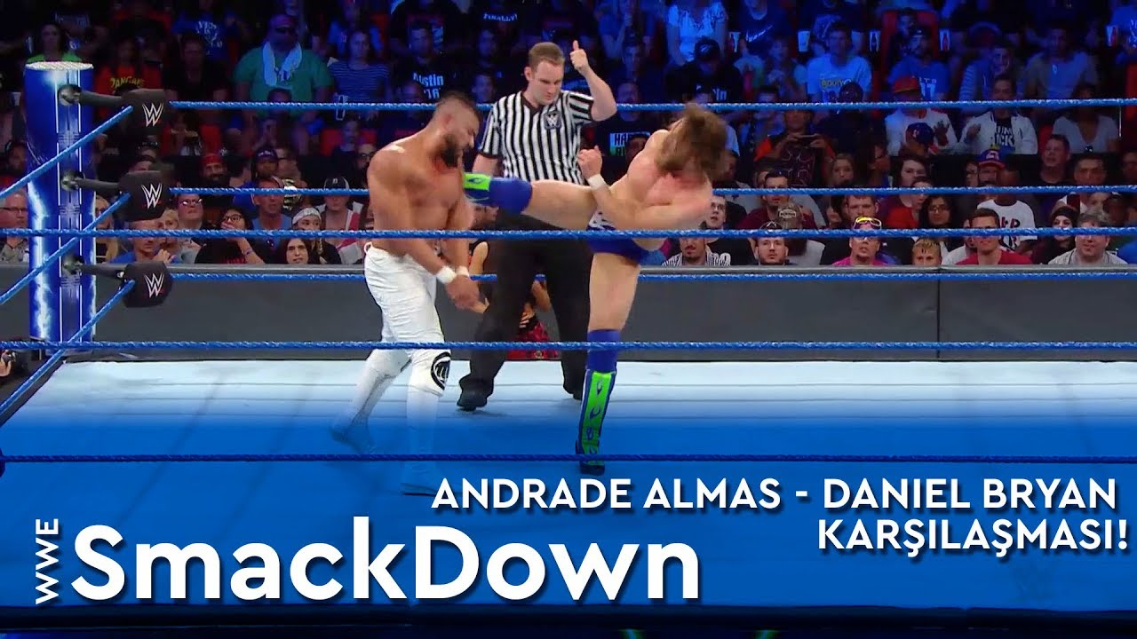 Andrade Almas - Daniel Bryan Karşılaşması!