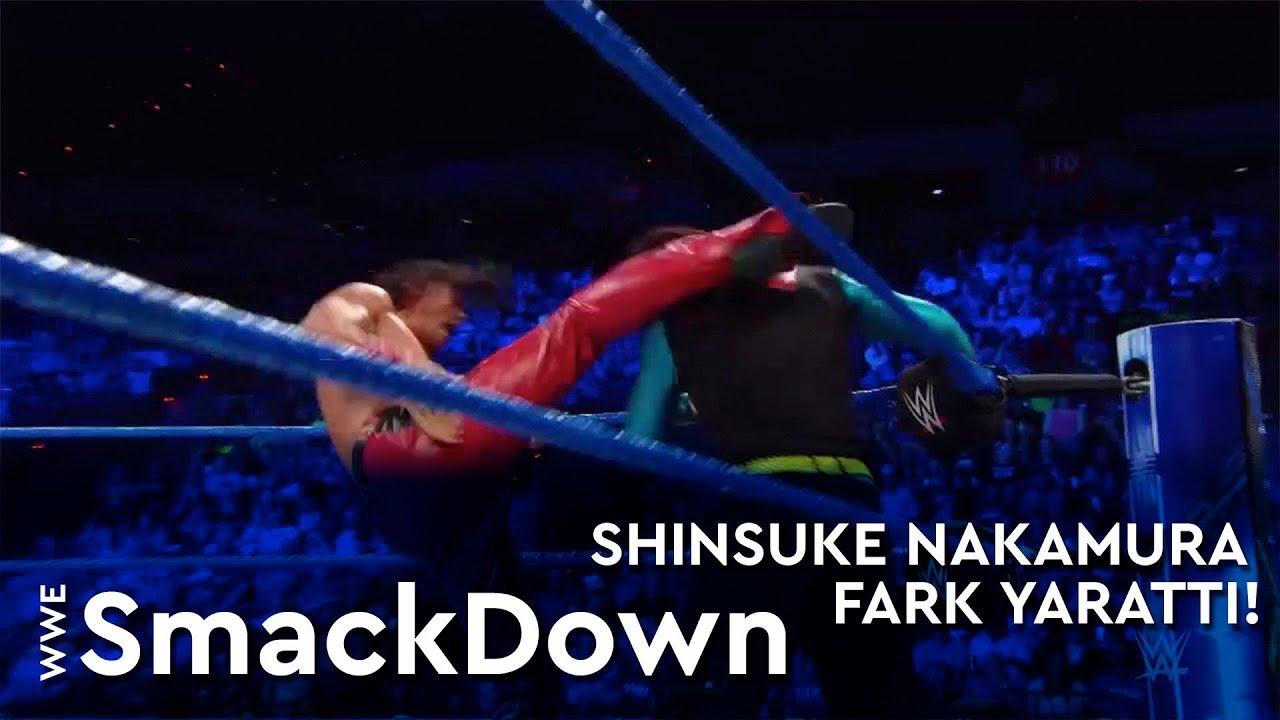 Shinsuke Nakamura Fark Yarattı!