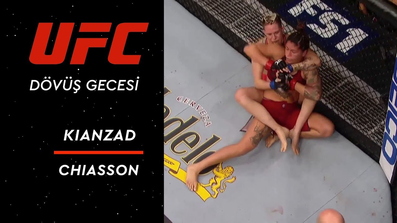 The Ultimate Fighter Season 28 Finale | Kianzad vs Chiasson
